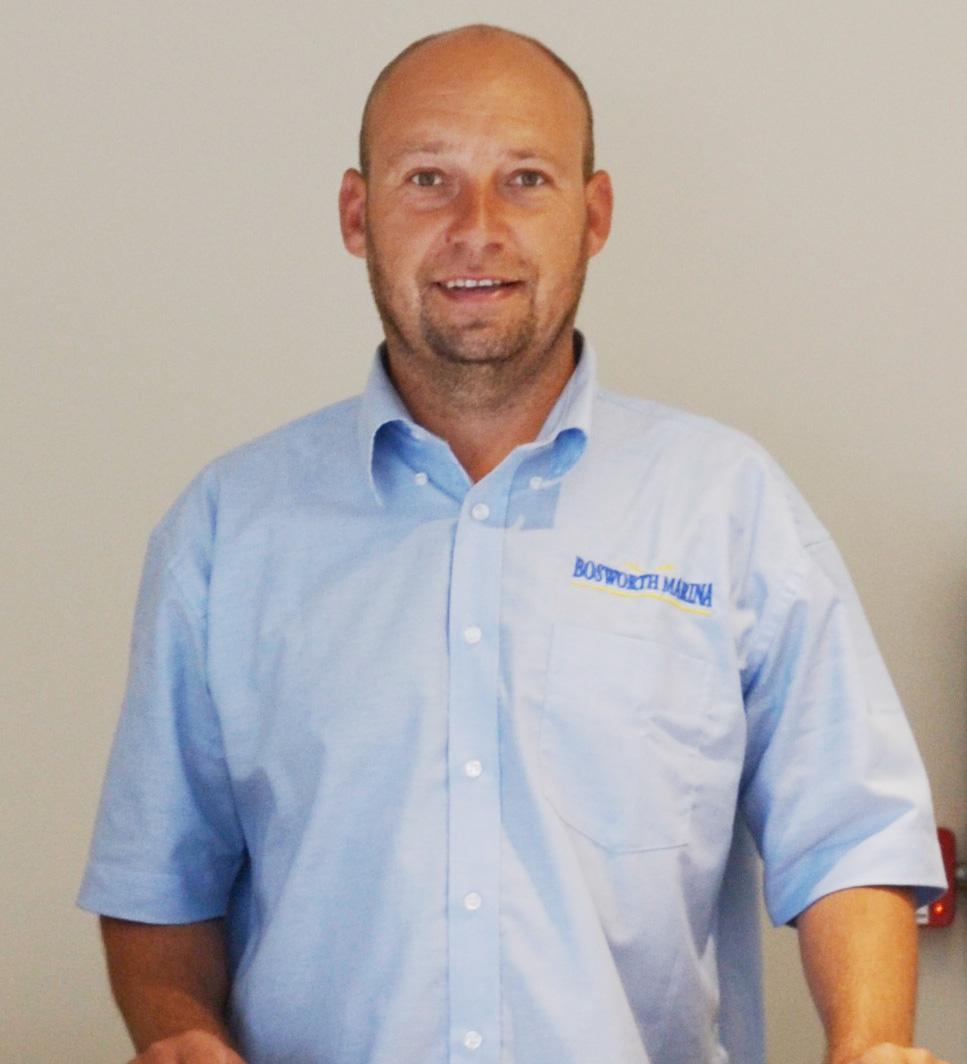 Chris Hubbard - Manager at Bosworth Marina