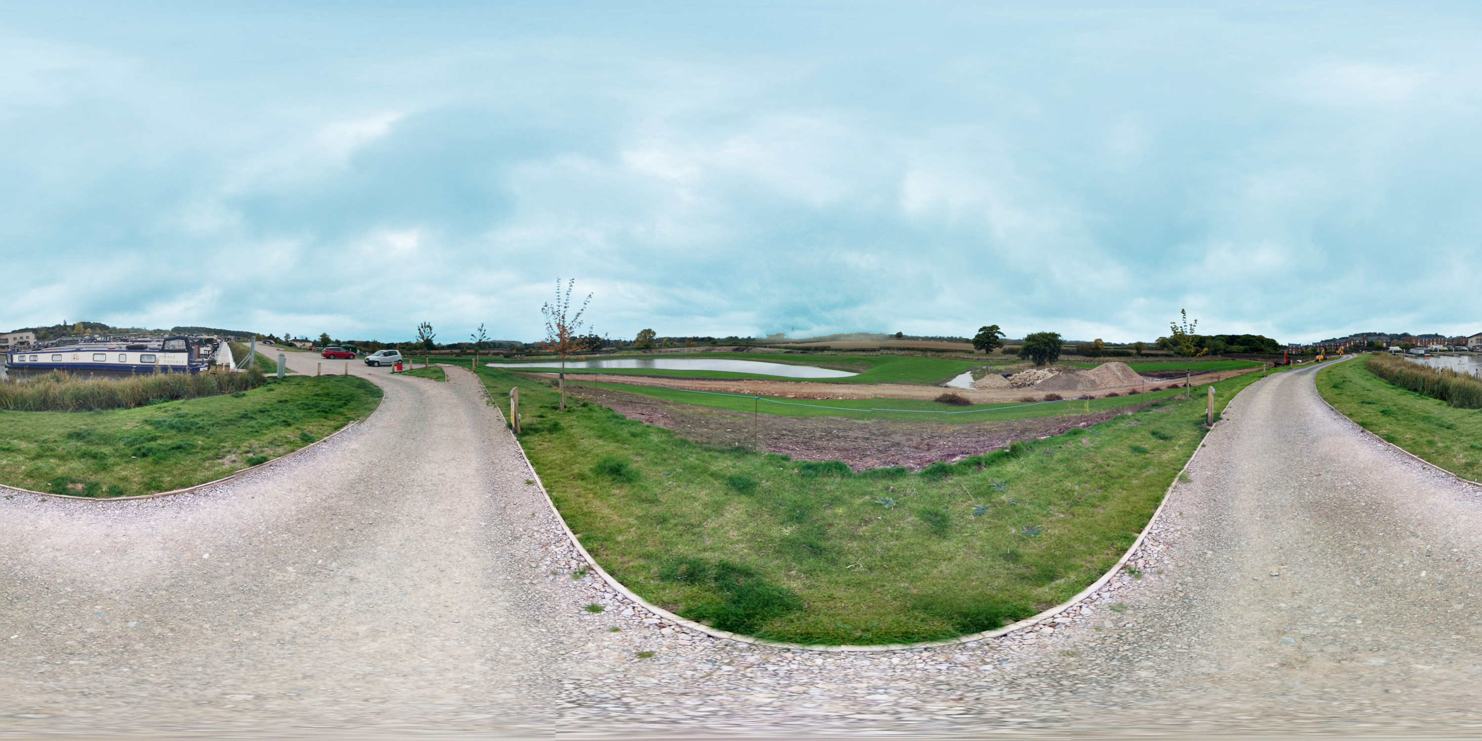 Photo Sphere view from near the reservoir at Bosworth Marina